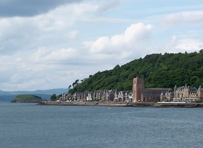 St Columba's Cathedral and the esplanade