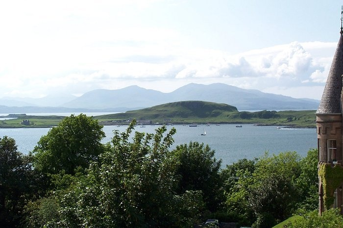 Looking across the bay to Mull and Kerrera