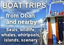 Boat Trips in and around Oban