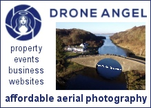 Drone Angel Imaging - aerial photography Oban